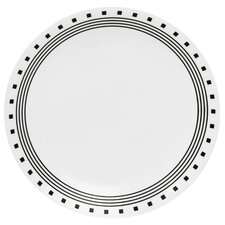 "Livingware 10.25"" City Block Dinner Plate"