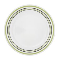 "Livingware Garden Sketch Bands 10.25"" Dinner Plate"