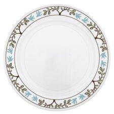 "Livingware 10.25"" Tree Bird Dinner Plate"