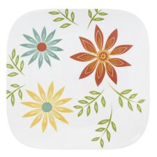 "Square 10.5"" Happy Days Dinner Plate"