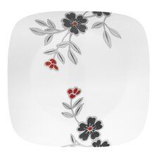 "Square Mandarin Flower 10.5"" Dinner Plate"