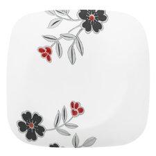 """Square Mandarin Flower 9"""" Plate"""