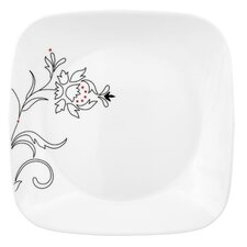 "<strong>Corelle</strong> Royal Lines Square 9"" Luncheon Plate"