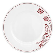 "Vive 10.75"" Berries and Leaves Dinner Plate"