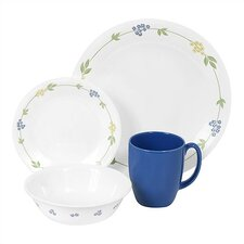 Livingware Secret Garden 16 Piece Dinnerware Set