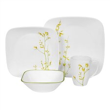 Square Kobe 16 Piece Dinnerware Set