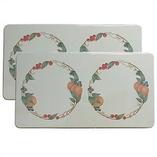Abundance Rectangular Burner Cover (Set of 2)