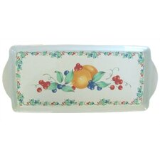 Abundance Tidbit Rectangle Serving Tray