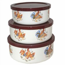 Country Morning 6 Piece Bowl Set