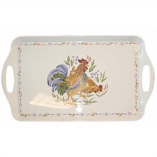 <strong>Corelle</strong> Country Morning Rectangular Serving Tray