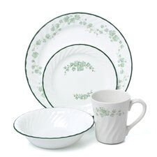 Impressions Sculptured 16 Piece Dinnerware Set