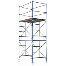 Contractor Series Complete 2-Section Fixed Tower Scaffolding System