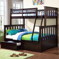 Kira Twin Over Full Standard Bunk Bed