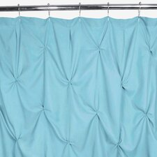 Polyester Pouf Shower Curtain
