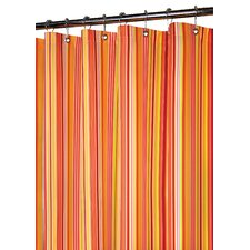 Prints Polyester Strings Stripe Shower Curtain
