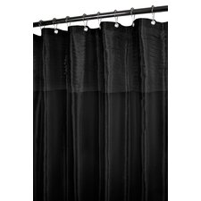 Prints Polyester Tuxedo Pleat Shower Curtain