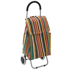 Stripe Shopping Trolley