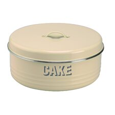 Vintage Kitchen Cake Tin in Cream