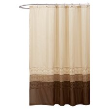 Mia Polyester Shower Curtain