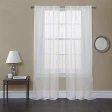 Bright Morning Window Curtain Panel (Set of 2)