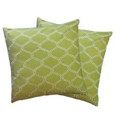 Trellis Zipper Pillow Shell (Set of 2)