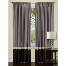 Villagio Rod Pocket Curtain Single Panel
