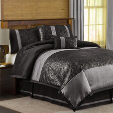 Metallic Animal 6 Piece Comforter Set