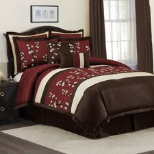 <strong>Special Edition by Lush Decor</strong> Cocoa Flower Bedding Collection