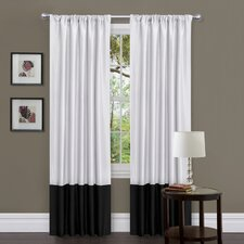 Covina Rod Pocket Curtain Panel Pair with Tieback