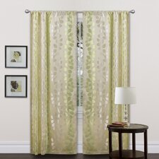 Teardrops Rod Pocket Curtain Panel (Set of 2)