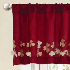 "Flower Drop 84"" Curtain Valance"