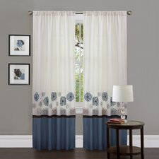 <strong>Special Edition by Lush Decor</strong> Tender Blossom Polyester Window Panels