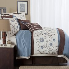 <strong>Special Edition by Lush Decor</strong> Royal Garden 8 Piece Comforter Set