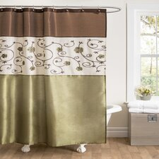 Royal Garden Polyester Shower Curtain