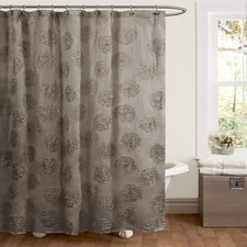 Samantha Polyester Shower Curtain