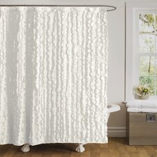 Modern Chic Polyester Shower Curtain