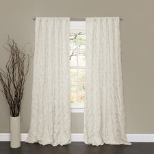 Lake Como Rod Pocket Curtain Single Panel