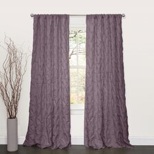 Lake Como Rod Pocket Curtain Single Panel (Set of 2)