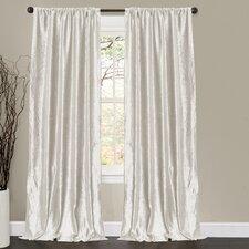 Velvet Dream Rod Pocket Curtain Panel