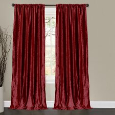 <strong>Special Edition by Lush Decor</strong> Velvet Dream Rod Pocket Curtain Panel
