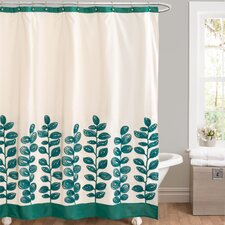 Vineyard Allure Polyester Shower Curtain