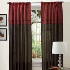 <strong>Special Edition by Lush Decor</strong> Geometrica Rod Pocket Curtain Panel (Set of 2)