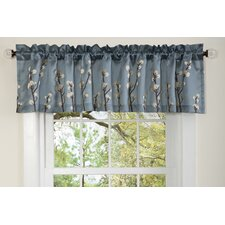 "Cocoa Flower 84"" Curtain Valance"
