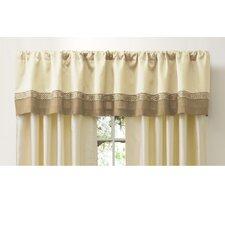 "Talon Rod Pocket Tailored 84"" Curtain Valance"