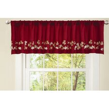 Flower Drop Curtain Valance