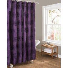 Samantha Polyester Shower Curtain
