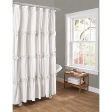 Darla Polyester Shower Curtain