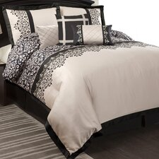 Lavish Garden 7 Piece Comforter Set