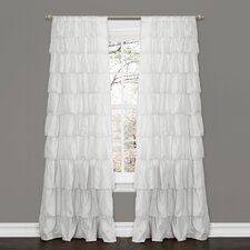 <strong>Special Edition by Lush Decor</strong> Ruffle Rod Pocket Curtain Single Panel