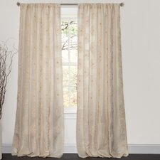 Samantha Rod Pocket Curtain Single Panel